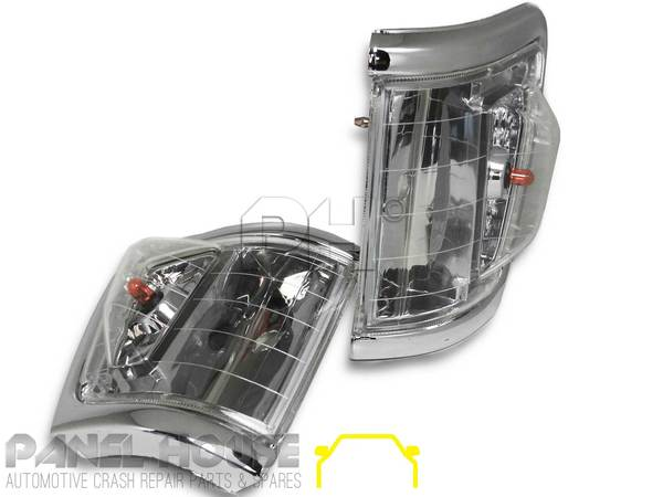 Subaru Aftermarket Parts >> Blinker Park Light Crystal Clear 4WD Style SET Fits Toyota ...