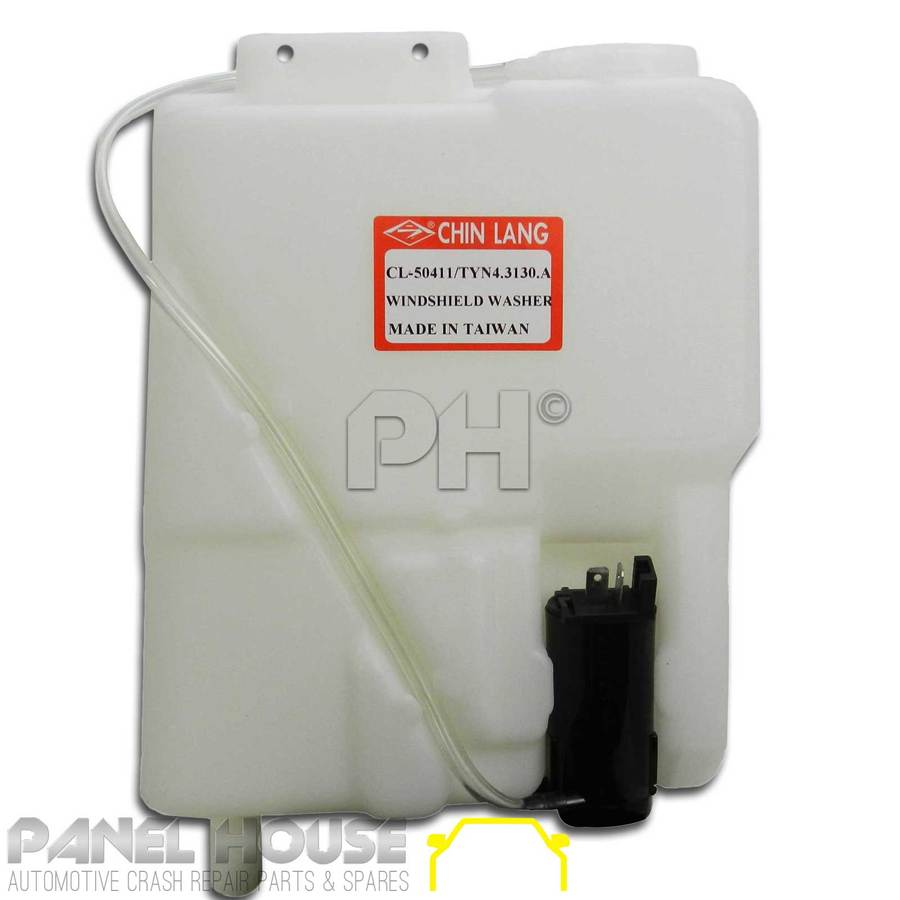 Windscreen Washer Bottle And Motor Fits Toyota Hilux 2wd