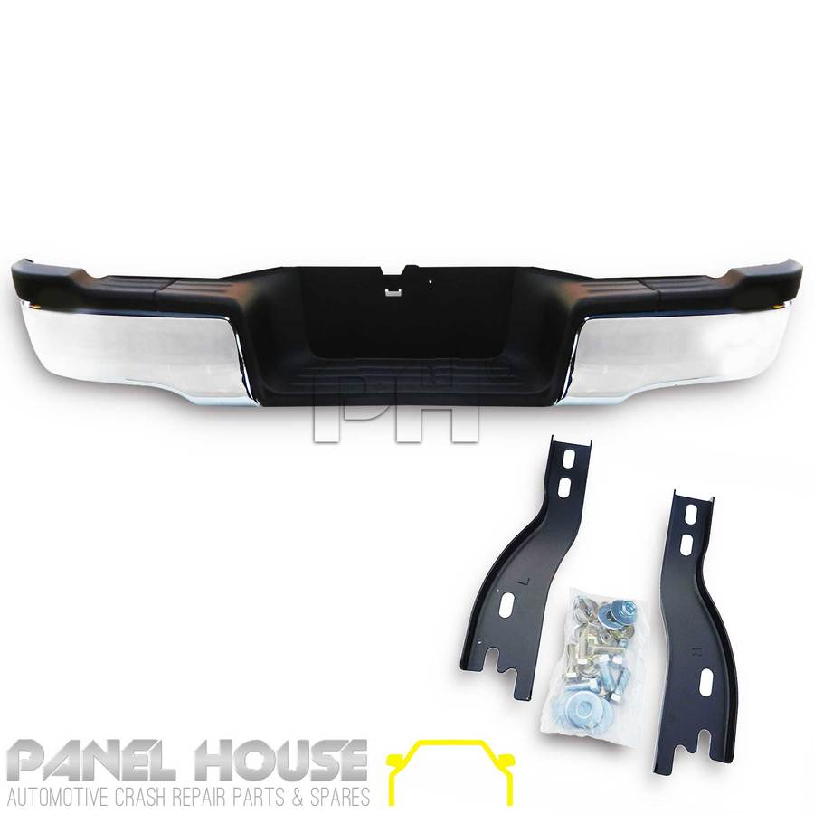 Bumper Bar Rear Step Assy Chrome Complete Fits Toyota
