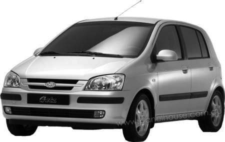 hyundai getz 3 door 5 door hatch 05 2002 08 2005. Black Bedroom Furniture Sets. Home Design Ideas