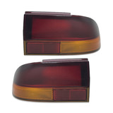 Holden Commodore VR - VS Red & Amber Pair 1xLH 1xRH Tail Lights Brand New