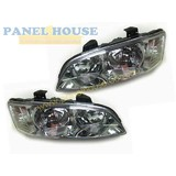 Holden Commodore VE Series 2 Omega Pair 1xLH 1xRH Chrome Head Lights New