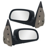 Door Mirror Black Electric PAIR LH+RH to fit AU BA BF Falcon 1998-2008 Ford