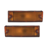 Holden Rodeo TF Ute 91-96 Pair 1xLH 1xRH Amber Front Bar Indicator Lights New