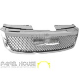 Isuzu D-MAX Ute 12-16 Full Chrome Bentley Style MESH Grill NEW Grille NEW SHAPE