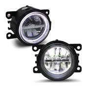 Holden Commodore VE 06-10 PAIR Twin LED With Halo Style Fog Driving Light NEW