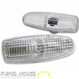 NEW Ford BA Falcon '02-'05 Clear PAIR Side Indicator Guard Lights XT XR6 XR8 FPV