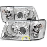 Toyota Hilux Ute 01-05 SR5 CLEAR Performance Head Light Set Upgrade Lamps KIT