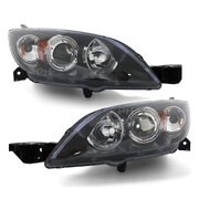 Mazda 3 BK HATCH '03-'09 Replacement LH+RH Pair Head Light NEW Quality ADR Lamps