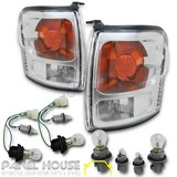 NEW Toyota Hilux 01-05 2WD 4WD SR5 Corner Indicator Light PAIR With Wiring LH RH