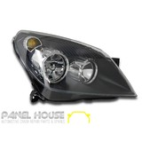 Holden AH Astra '04-'06 NEW Replacement Right Hand BLACK Head Light RHS ADR Lamp