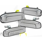 Mitsubishi Pajero NH NJ NK 91-98 Set x4 CHROME Outer Front Rear Door Handle NEW
