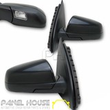 NEW Holden VE Commodore '06-'13 PAIR Door Mirror With Puddle Light LH RH