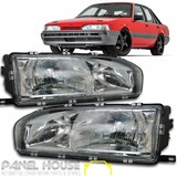 Holden Commodore VL Head Light NEW Pair LH RH Sedan Wagon 86-88 Depo ADR Quality
