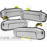 Mitsubishi Pajero NL Wagon 98-00 Set x4 Outer CHROME Front&Rear Door Handle NEW