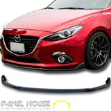 NEW Mazda 3 BM Hatch Sedan '14- Front Bar Lower Lip KUROI Carbon Spoiler Skirt