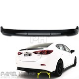 Mazda 3 BM Sedan '14- REAR Bar Lower Lip KUROI Carbon Spoiler Skirt