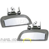 Nissan Pathfinder R51 Series 05-13 LH+RH Outer CHROME Exterior Door Handle PAIR