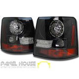 Range Rover Sport L320 05-09 Replacement UPGRADE LED Black Tail Light ADR Lamp Set