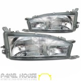Toyota Camry Wide Body LH RH Head Light PAIR '93-'96 VIENTA Lamp SDV10 VDV10 VZV10