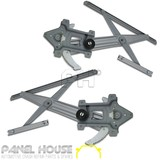 Holden Colorado Window Regulator PAIR '08-'12 Front Electric LH RH No Motor NEW