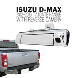 Isuzu D-MAX Ute 12-'15 Chrome Tail Gate Handle NEW With Reverse Camera LS-U Dmax