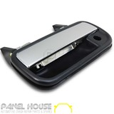 Chrome & Black LEFT Front Outer Door Handle LH Toyota Hilux Ute 1988-2005