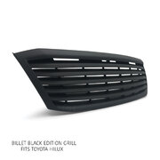 NEW Toyota Hilux Ute '05-'08 Grill BLACK EDITION Billet Bar Style Upgrade Grille