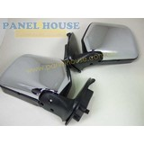 Toyota Hilux 97 - 05 Chrome Manual Door Mirrors Pair 1xLH 1xRH Brand New