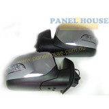 Holden Colorado RC Ute 08-12 LH+RH Chrome Elec Door Mirrors With Blinkers NEW
