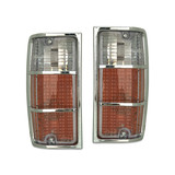 Holden HJ HX HZ Kingswood / Statesman Pair Of Corner Lamps / Indicator Lights