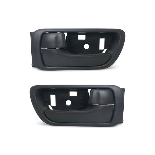 toyota camry acv 36 series pair lh rh front grey inner door handles new aftermarket. Black Bedroom Furniture Sets. Home Design Ideas
