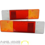 Mitsubishi Triton MK Ute Tray Back Tail Light Lens PAIR '96-'06 LH RH New