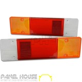 Mitsubishi Triton ML MN Ute 06-13 Tray Back Tail Light Lens PAIR LH + RH New