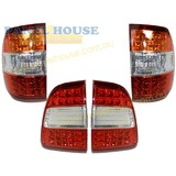 Taillight + Tailgate Lights SET LED Fits Toyota Landcruiser 100 Series 05-07