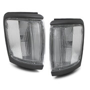 Grey Corner Park Lights PAIR Fits Toyota Surf / 4Runner 1991 - 1997