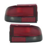 Tail Lights PAIR Red & Clear fits Holden Commodore VR - VS 1993 - 1997