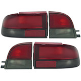 Tail Lights SET Red & Clear fits Holden Commodore VR VS HSV 1993-1997 Sedan