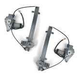 Window Regulators PAIR Front Electric fits Ford Falcon EA EB ED
