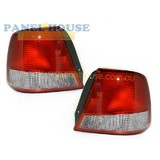 Hyundai Accent 00-02 3&5 Door Hatch PAIR LH+RH Tail Lights NEW Lamps
