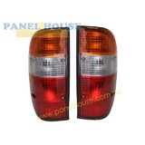 Tail Lights PAIR fits Ford Courier Ute PE PG 99 - 04