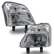 Headlights PAIR fits Holden RA Rodeo 2003 - 2006