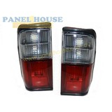 Tail Lights PAIR fits Mazda E Series Van E2000 1999-2006 Red & Clear