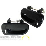 Door Handle Outer Front Pair RH & LH to suit Hyundai Accent 6/2000 - 09/2005