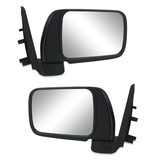 Nissan Patrol GU 97-04 Wagon PAIR LH+RH Black Manual Door Mirror BRAND NEW