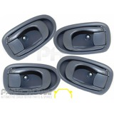 Hyundai Lantra 98-00 L3 Set x4 Interior Door Handle Inner Light Grey NEW