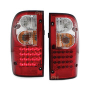 Taillights PAIR Altezza LED Fits Toyota Hilux Ute 97-01