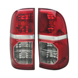 Genuine Tail Lights PAIR Fits Toyota Hilux Ute 2011-2015 SR5 Workmate NEW