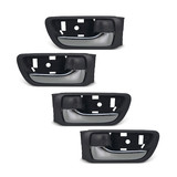 Door Handle FULL SET 4x Front Inner Chrome & Grey Fits Toyota Camry 2002-2006