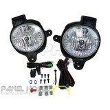 Fog Light Complete Upgrade Kit with Wires and Switch fits Toyota Hilux Ute 2011-2013